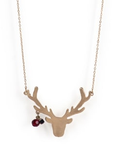 Reindeer Horns Necklace - Tribal Zone