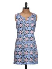 Sober Printed Casual Dress - Meira