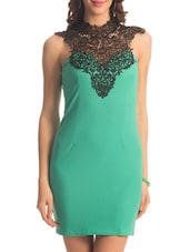 Mint Lace Turtle Dress - PrettySecrets