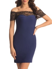 Cobalt Black Lace Dress - PrettySecrets