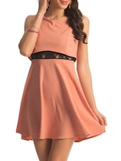Pink Peek-a-boo Lace Dress - PrettySecrets