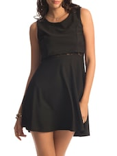 Black Peek-a-boo Lace Dress - PrettySecrets