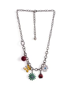 Colorful Charm Necklace - Tribal Zone
