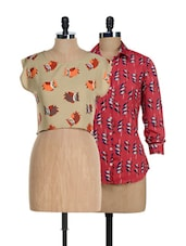 Birds And Owls Tops Set - @ 499