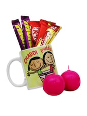Mug With Chocolate And Teddy Combo Gift Set - Gifts By Meeta