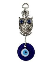 Feng Shui Evil Eye Owl Hanging - Gifts By Meeta