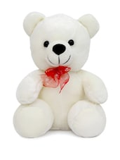 White Teddy Soft Toy - Gifts By Meeta