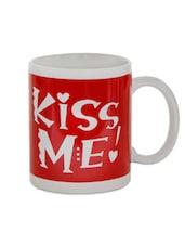 Kiss Me Mug - Gifts By Meeta