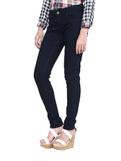 Deep Blue Straight-Fit Jeans - L'elegantae