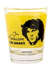Quirky Jim Morrison Shot Glass- Set Of 2 - EK DO DHAI