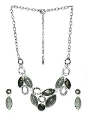 Silver & Black Jewellery Set - Svvelte