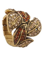 Red Diamond Studded Ring - Svvelte