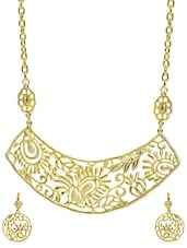 Golden Jewellery Set - Svvelte
