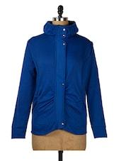 Royal Blue Fleece Jacket - Purys