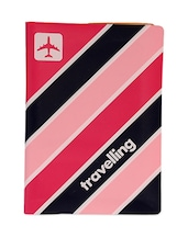 Passport Holder With Luggage Tag- Happy Flight - Cool Trends