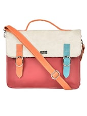 Multi-coloured Cross Body Bag - YELLOE