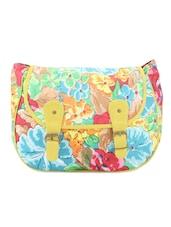 Multicoloured Floral Cross Body Bag - Art Forte