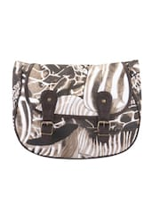 Printed Canvas Cross Body Bag - Art Forte