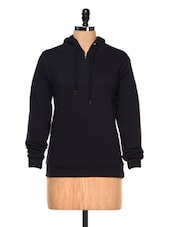 Navy Blue  Full Sleeves Sweat Shirt - Hypernation