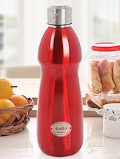Orange Stainless Steel Water Bottle - Cello