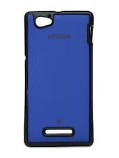 Sony Xperia M Royal Blue Back Cover - William Cooper