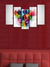 Colourful Modern Wall Art Painting - 5 Pieces - 999store