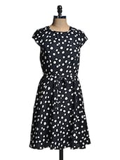 Black And White Polka-Dotted Dress - Mishka