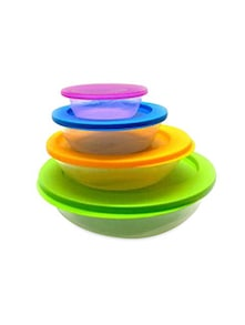Plastic Container Set Bigset Of 4 Bowls In Pack
