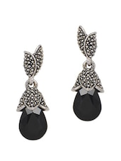 Black Drop Earrings - YOUSHINE