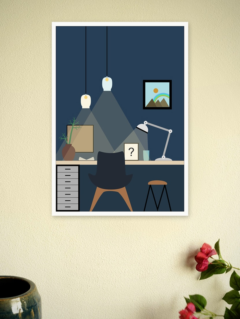 Home Art Decor Poster For Children - Lab No. 4 - The Quotography Department