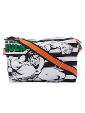 Monochrome Stripes Hulk Duffle Bag - Be... For Bag