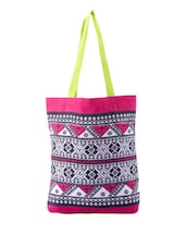 Ethnic Print Colourful Bag - Be... For Bag