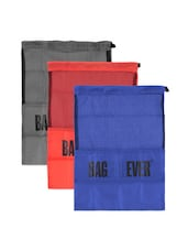 Set Of Colourful Drawstring Bags (Set Of 6) - Be... For Bag