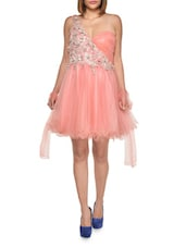 Feminine Sweetheart Coral Dress - FOREVER UNIQUE