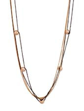 Gold Multi-Layered Necklace - THE BLING STUDIO