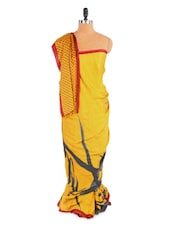 Lovely Yellow Saree With Blouse Piece - ROOP KASHISH