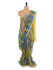 Gorgeous Yellow Saree With Blouse Piece - ROOP KASHISH