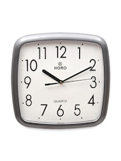 Grey  Classic Table Clock - Horo