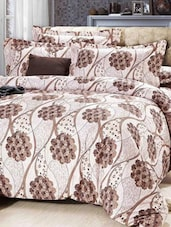 Floral Print Double Bed Sheet - Story @ Home