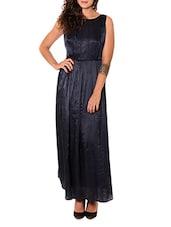 Sleeveless Pleated Maxi Dress - URBAN RELIGION