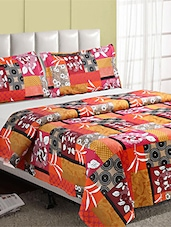 100 % Cotton  Double Bed Sheet With 2 Pillow Cover - Desi Connection - 953210