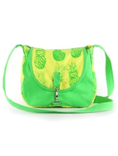 Green And Yellow Sling Bag - Vogue Tree