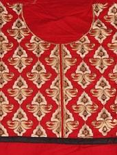 Pretty Red Cotton Salwar Kameez - Style Mania