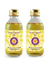 200 Ml Pure Castor Oil - By