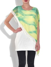 Multicolored Polyester Sequined Top - By