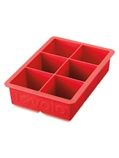 Red Silicone Perfect Cube Ice Trays Molds - Tovolo