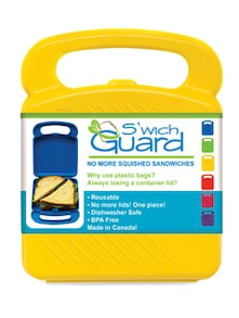 Yellow Sandwich Guard Lunch Box