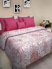 Multicolored Cotton Printed Double Bed Quilt - By - 9569862