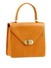 Structured Formal Leather Bag - Phive Rivers