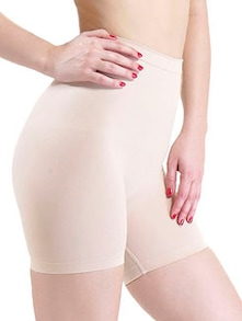 Cream  Low Waist and Short Thigh Shaper